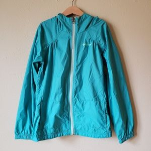 Columbia Girls 10/12 Medium Rain Shell Jacket